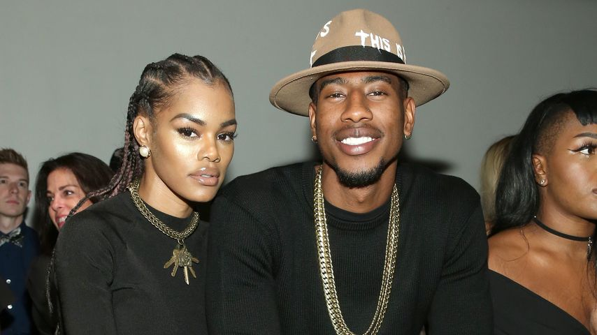 Teyana Taylor und Iman Shumpert bei der Globe Fashion Show 2016 in New York