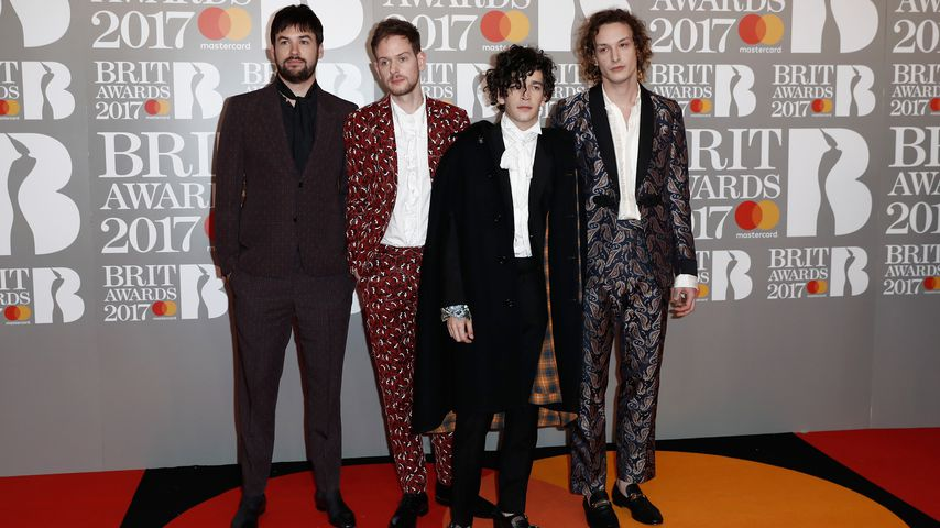 The 1975 bei den BRIT Awards 2017 in London