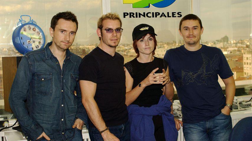 Die Band The Cranberries im Jahr 2002