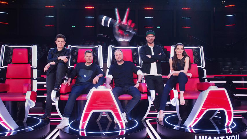 TVoG-Coaches Michael Patrick Kelly, Michi Beck, Smudo, Mark Forster und Yvonne Catterfeld