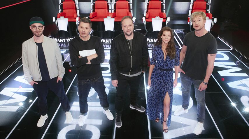 """The Voice of Germany""-Jury 2017"