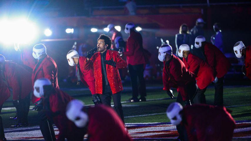 The Weeknd bei der Super-Bowl-Halbzeitshow