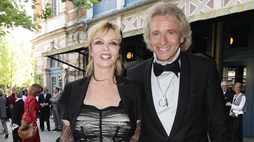 Noch-Ehepaar Thea und Thomas Gottschalk