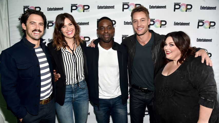 Milo Ventimiglia, Mandy Moore, Sterling K. Brown, Justin Hartley & Chrissy Metz (v.l.)
