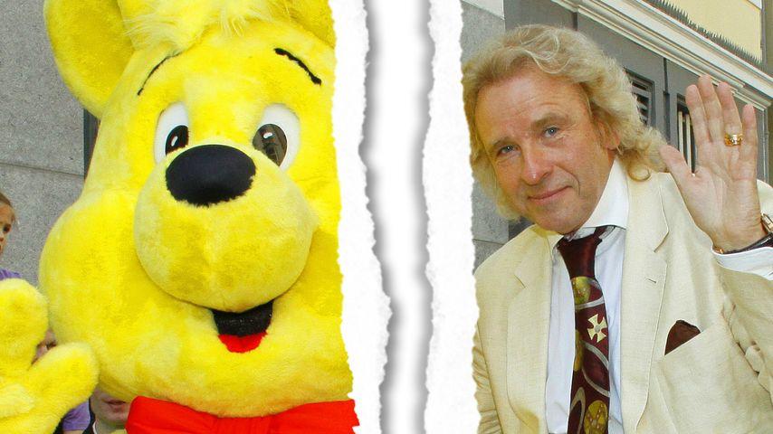 Thomas Gottschalk & Goldbär gehen getrennte Wege