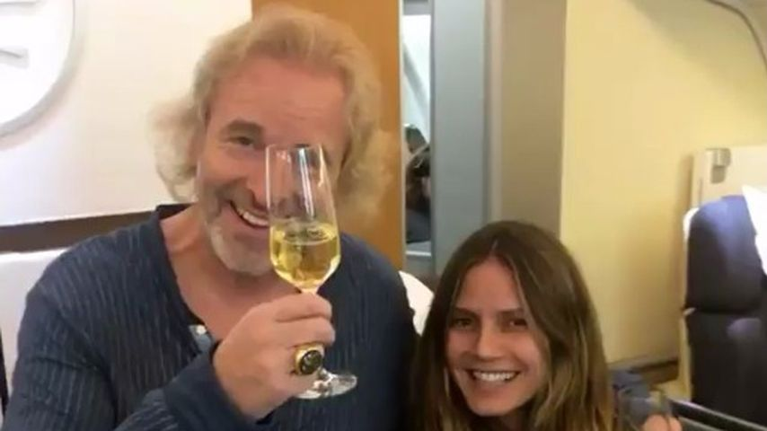 Himmlisches Wiedersehen: Heidi Klum trifft ihren Entdecker!
