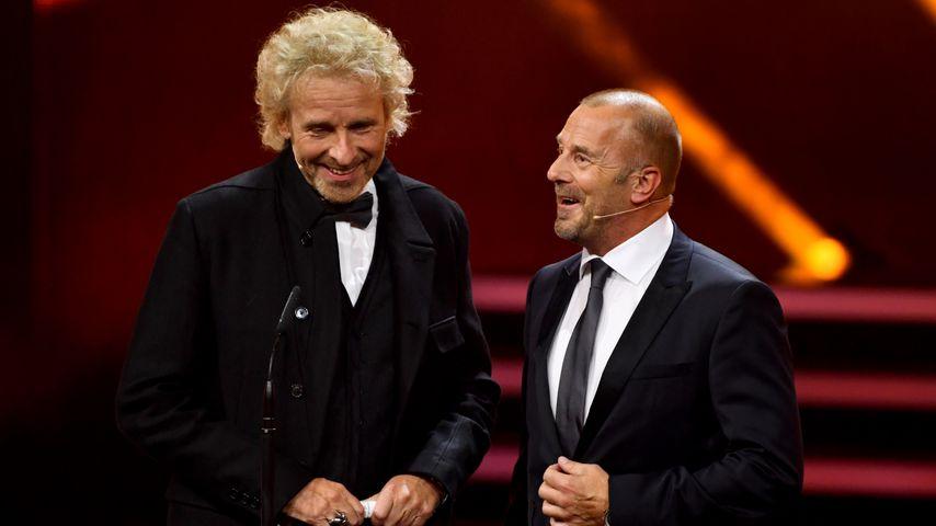 Thomas Gottschalk und Heino Ferch