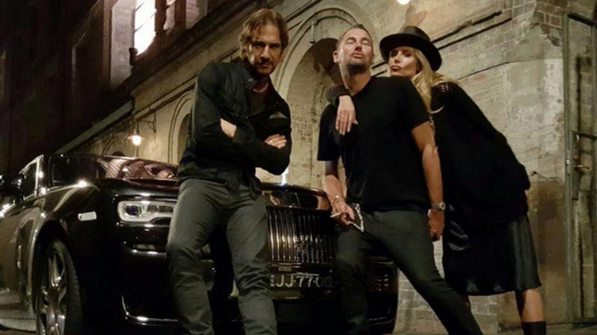 Thomas Hayo, Heidi Klum und Michael Michalsky bei GNTM