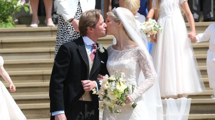 In einem Traum in Weiß: Lady Gabriella Windsor hat ja gesagt