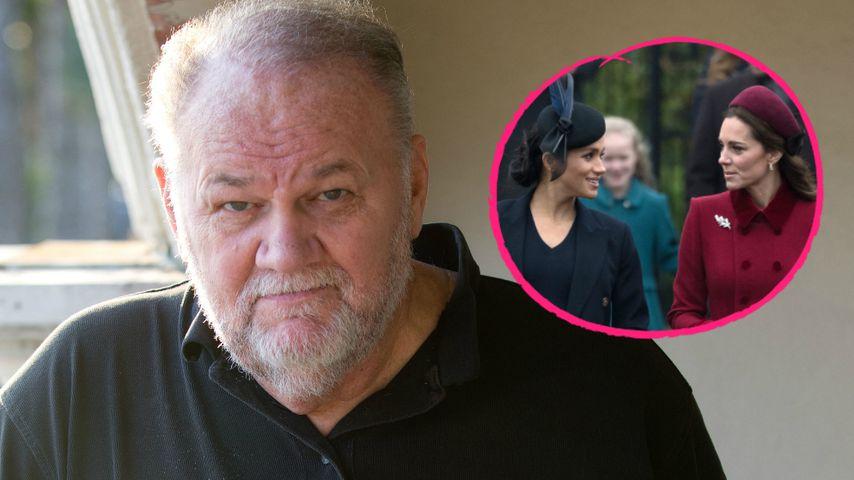 Herzogin Meghans Papa will, dass sie Streit mit Kate beendet