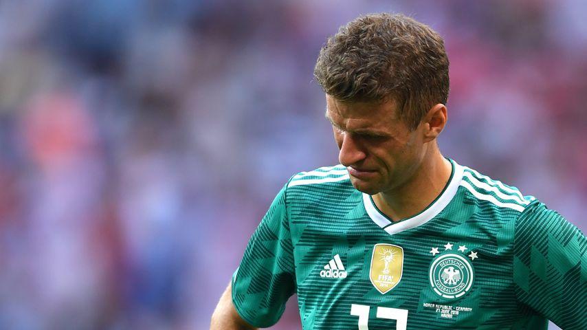 Thomas Müller nach der Partie gegen Südkorea