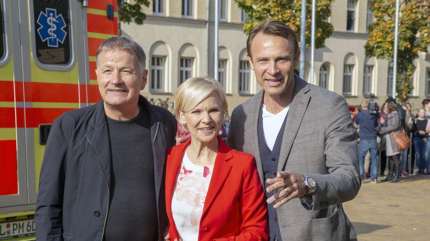"""""""In aller Freundschaft""""-Stars Thomas Rühmann, Andrea Kathrin Loewig, Bernhard Bettermann"""