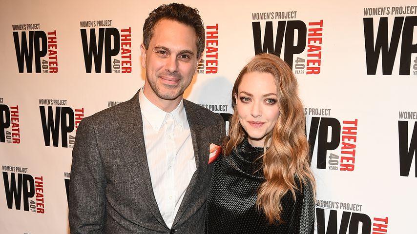 Thomas Sadoski und Amanda Seyfried, April 2019 in New York City