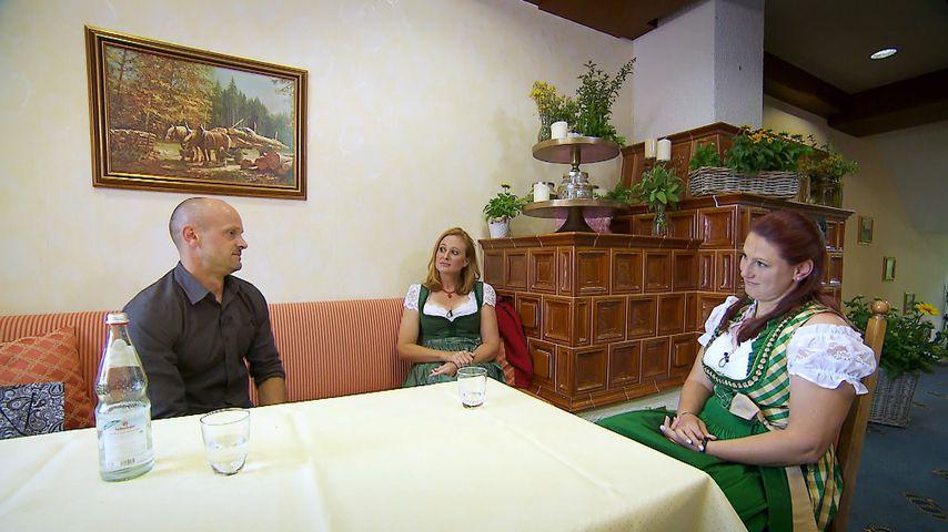 Thomas U. und seine Bewerberinnen Nicole und Gaby