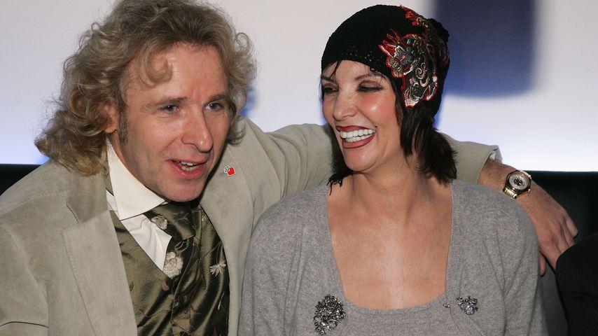 """Thomas und Thea Gottschalk auf der """"Ein Herz für Kinder""""-Gala, 2004"""