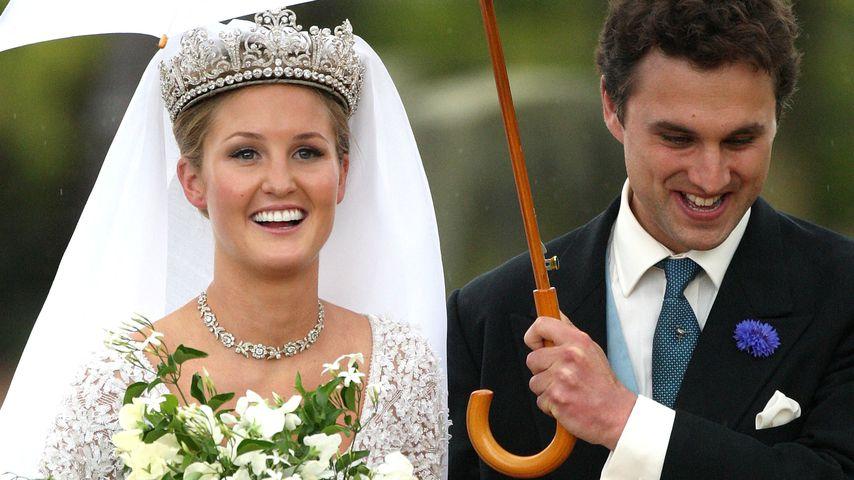 Heirat von Thomas van Straubenzee und Melissa Percy