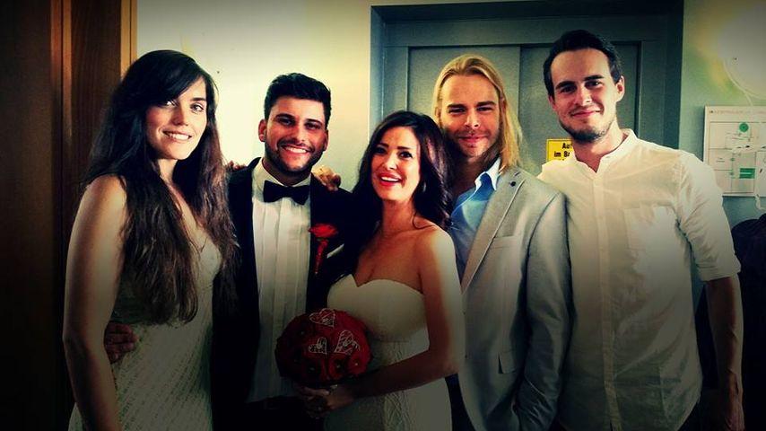 """Hochzeit von Cristobal: Popstars-""""Room 2012"""" wieder vereint"""
