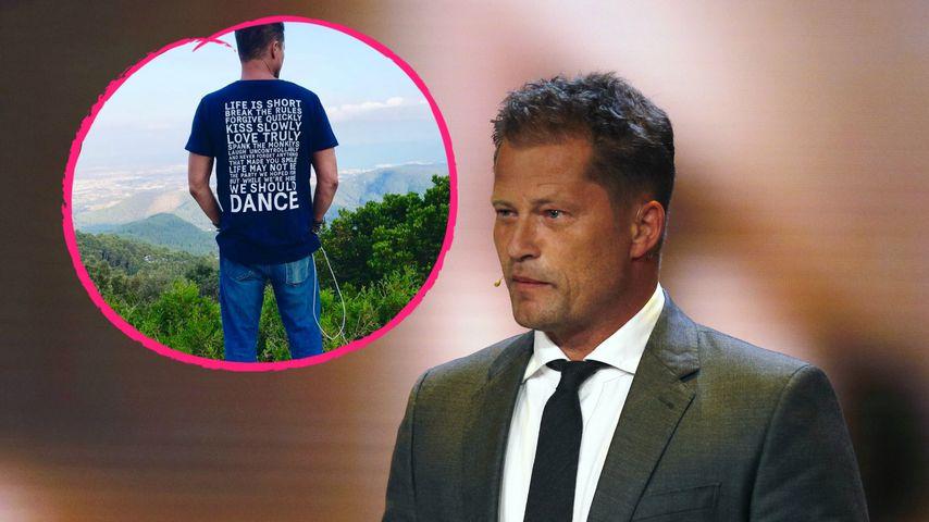 Til Schweiger: T-Shirt mit klarer Botschaft nach Netz-Hate!
