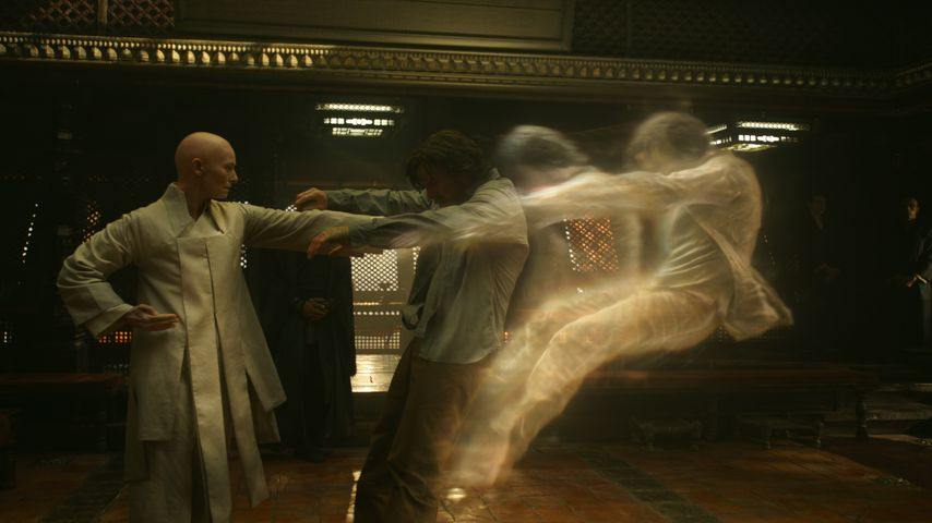 "Tilda Swinton als The Ancient One in ""Doctor Strange"""