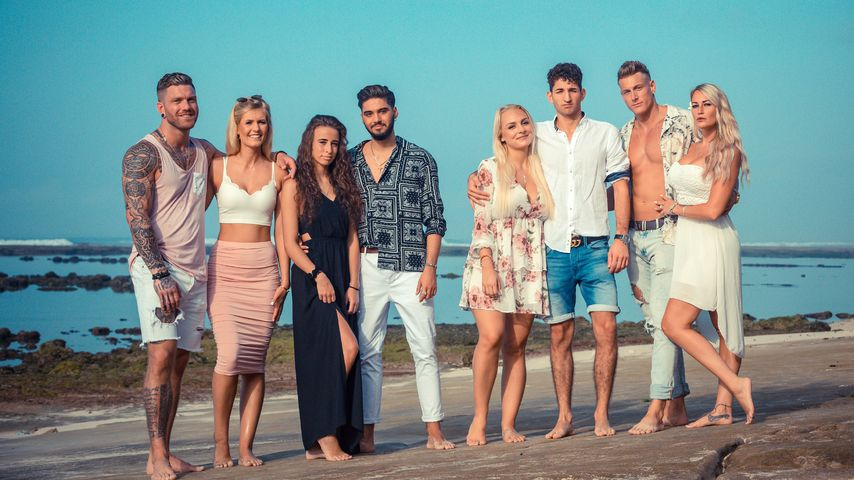 "Till, Hanna, Siria, Davide, Michelle, Mateo, Calvin und Pia, ""Temptation Island""-Paare 2020"