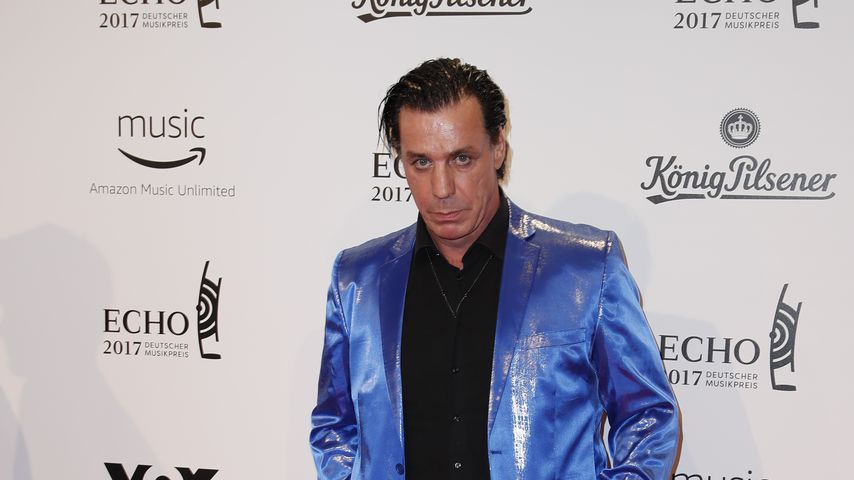 Till Lindemann im April 2017 in Berlin