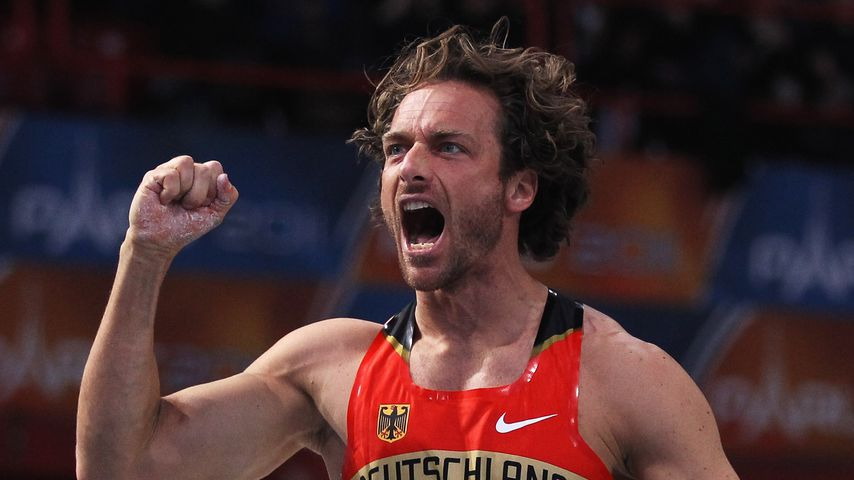 Tim Lobinger bei den European Athletics Indoor Championships 2011