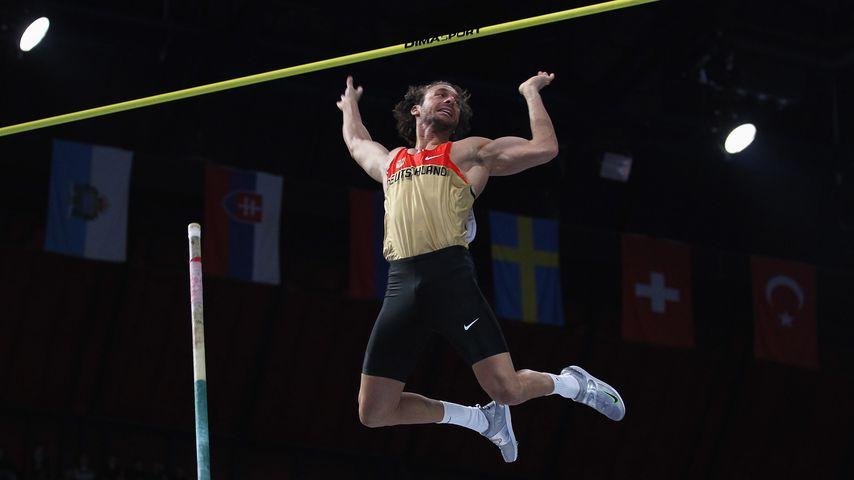 Tim Lobinger bei den Leichtathletik-Halleneuropameisterschaften 2011 in Paris