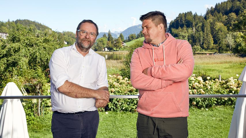Sepp Schellhorn und Tim Mälzer