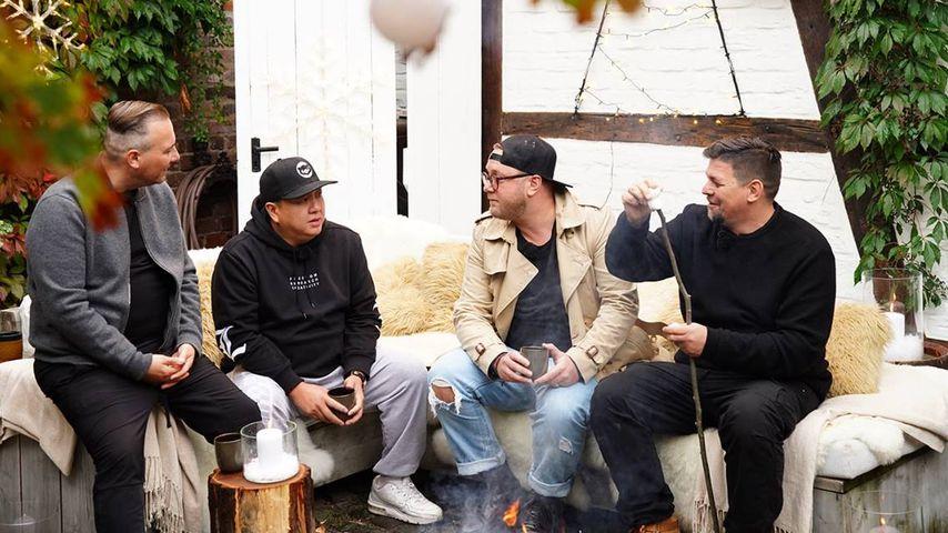 """Tim Raue, The Duc Ngo, Max Strohe und Tim Mälzer bei """"Kitchen Impossible"""""""