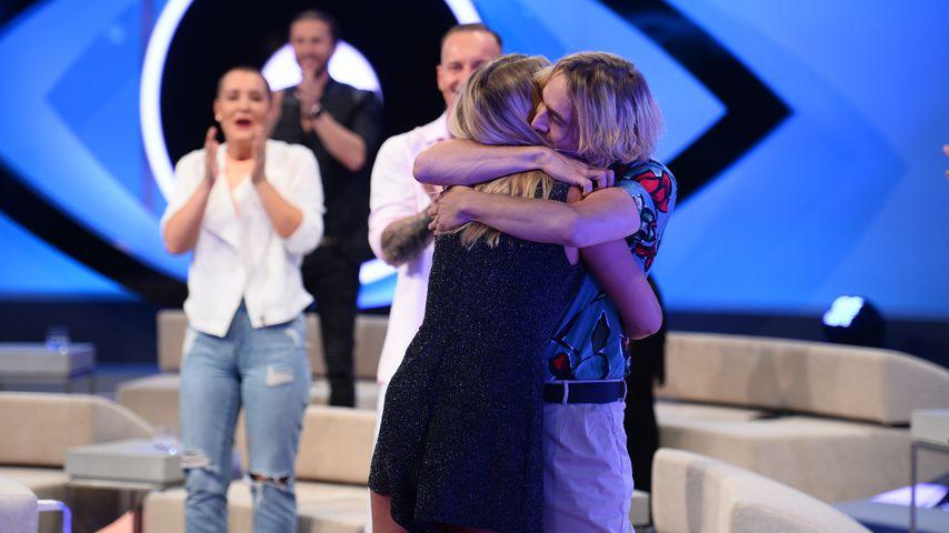 """Tim und Rebecca beim """"Big Brother""""-Finale im Mai 2020"""