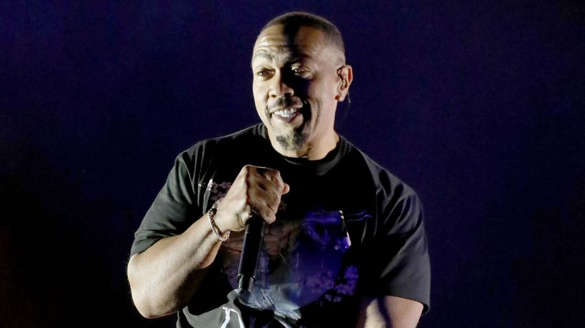 "Timbaland beim ""Something in the Water""-Festival im April 2019"