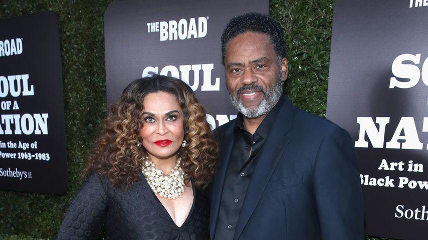 Tina Knowles und Richard Lawson im März 2019