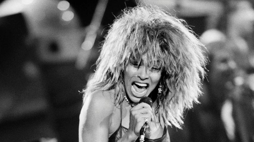 Tina Turner auf ihrer Tour von 1987