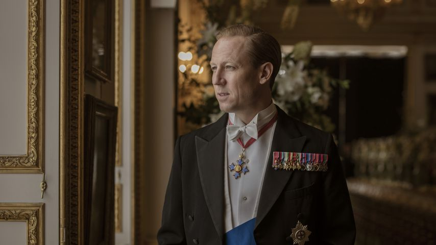 "Tobias Menzies als Prinz Philip in ""The Crown"""