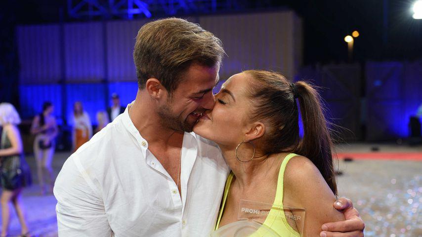 Tobias Wegener und Janine Pink im Promi BB-Finale