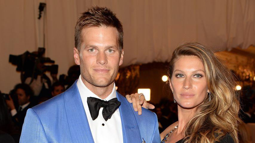 Tom Brady und Gisele Bündchen im Mai 2013