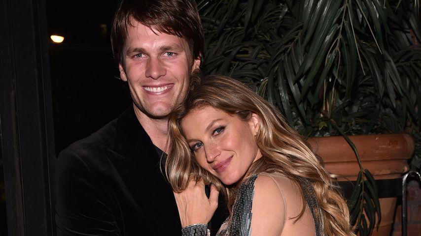 Gisele Bündchen & Tom Brady arbeiten am 3. Nachwuchs!