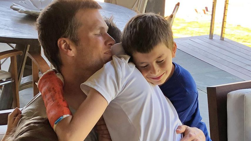 Tom Brady und seine Kinder