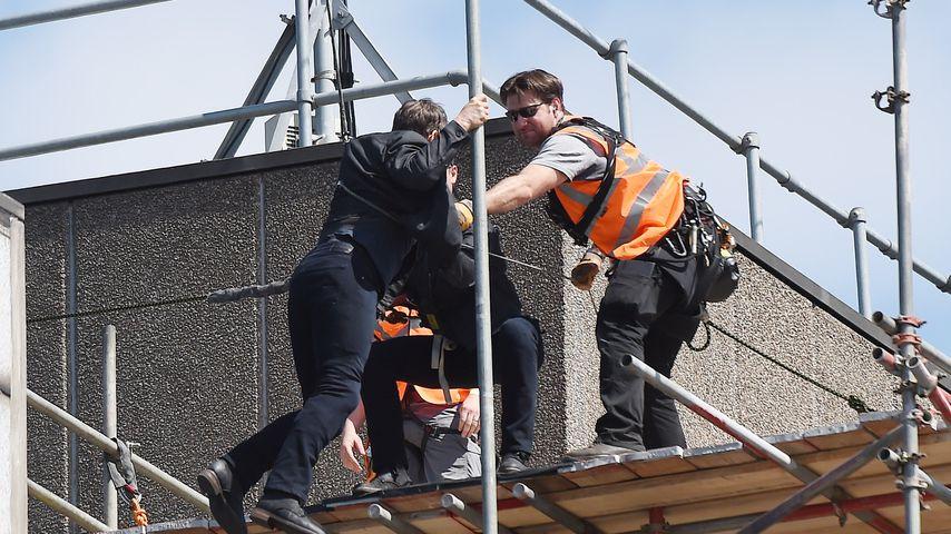 "Tom Cruise bei Dreharbeiten zu ""Mission: Impossible 6"" in London"