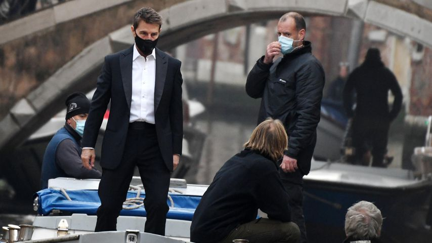 Tom Cruise bei Dreharbeiten in Venedig 2020