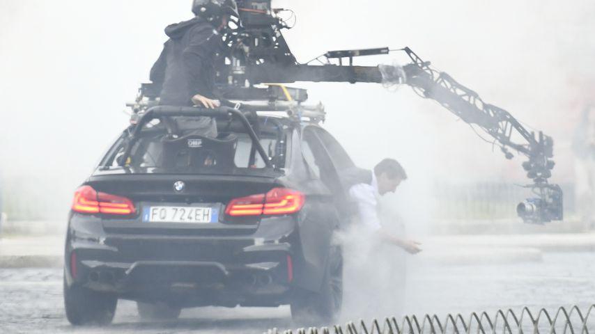 "Tom Cruise am Set von ""Mission: Impossible 7"" in Rom, Oktober 2020"