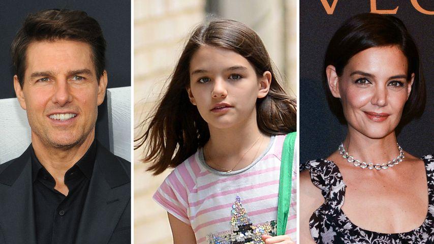 Fans sind sich uneinig: Sieht Suri aus wie Tom oder Katie?