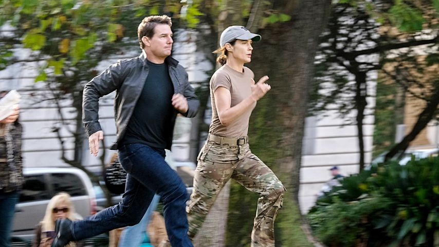 "Tom Cruise und Cobie Smulders in ""Jack Reacher 2"""