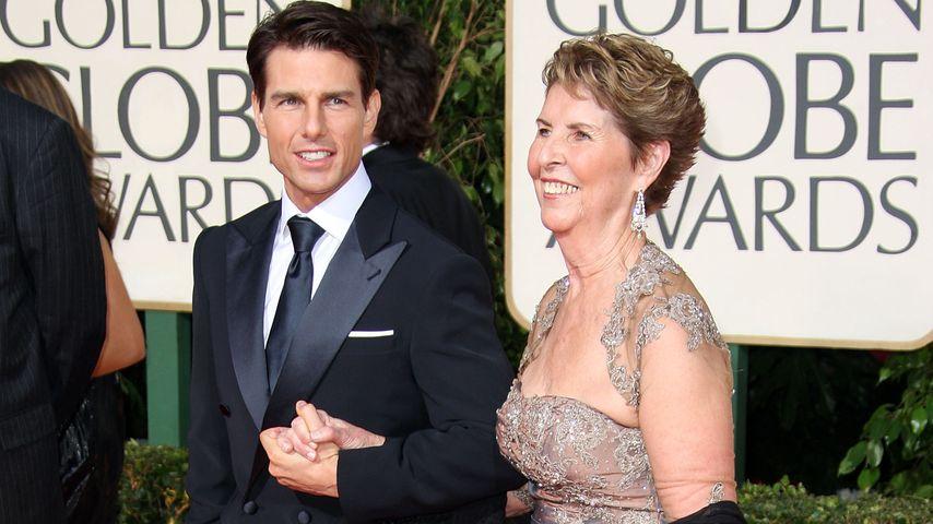 Tom Cruise mit Mutter Mary Lee bei den Golden Globe Awards 2009