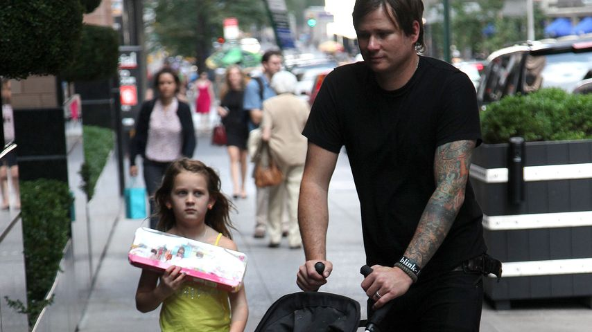 Tom DeLonge mit seiner Tochter Ava Elizabeth