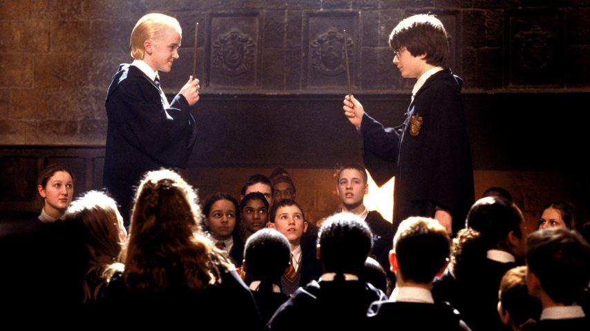 """Tom Felton und Daniel Radcliffe in """"Harry Potter und die Kammer des Schreckens"""""""