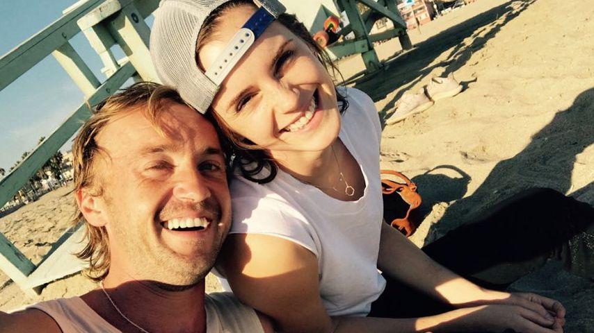 Tom Felton und Emma Watson privat