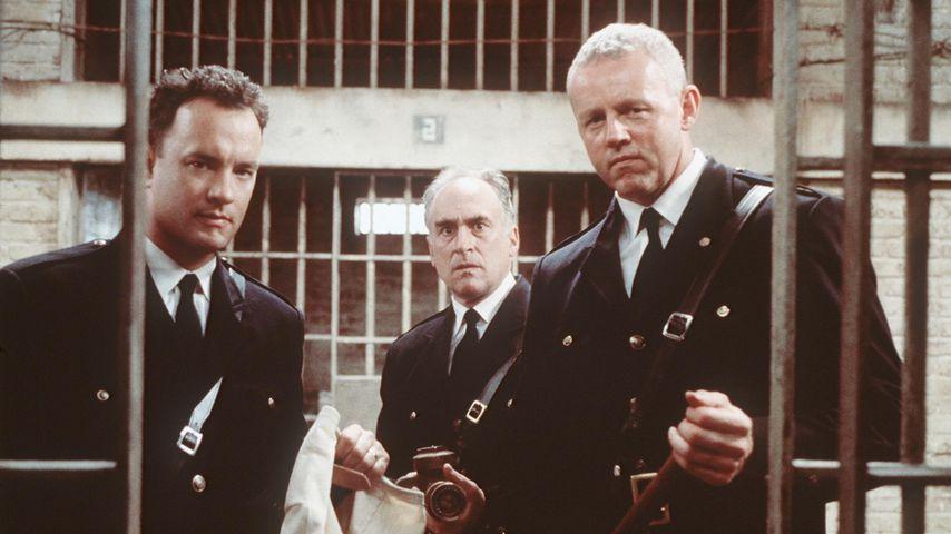 """Tom Hanks, Jeffrey DeMunn und David Morse in """"The Green Mile"""" von 1999"""