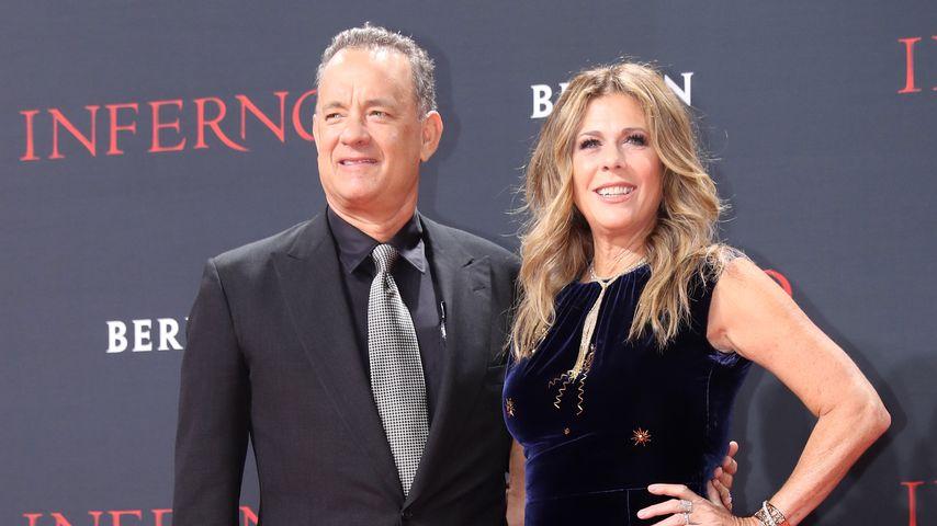 Knapp 30 Jahre Hollywood-Ehe: Tom Hanks zeigt, wie das geht