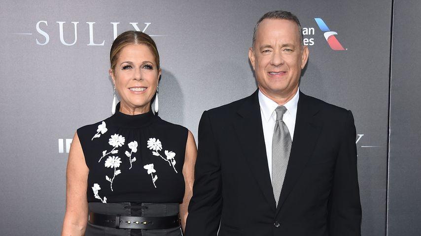 Verklagt! Tom Hanks steht für Unfall seines Sohnes gerade